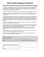WJJF Ireland Grappling competition Registration form and Waiver v7 Sept